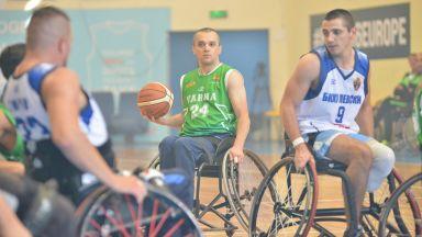 """""""Избери, за да помогнеш"""" осигурява инвалидни колички за баскетболисти"""