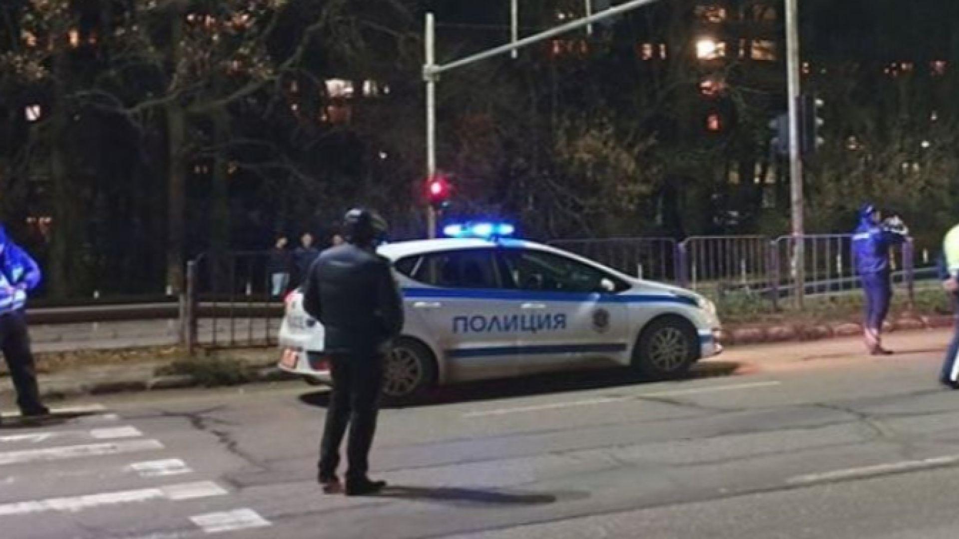 Полиция затвори булевард