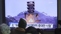 Северна Корея тества ракета с голям обсег