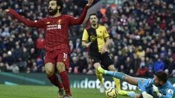 Магията на Салах донесе нов успех за Ливърпул по пътя към титлата