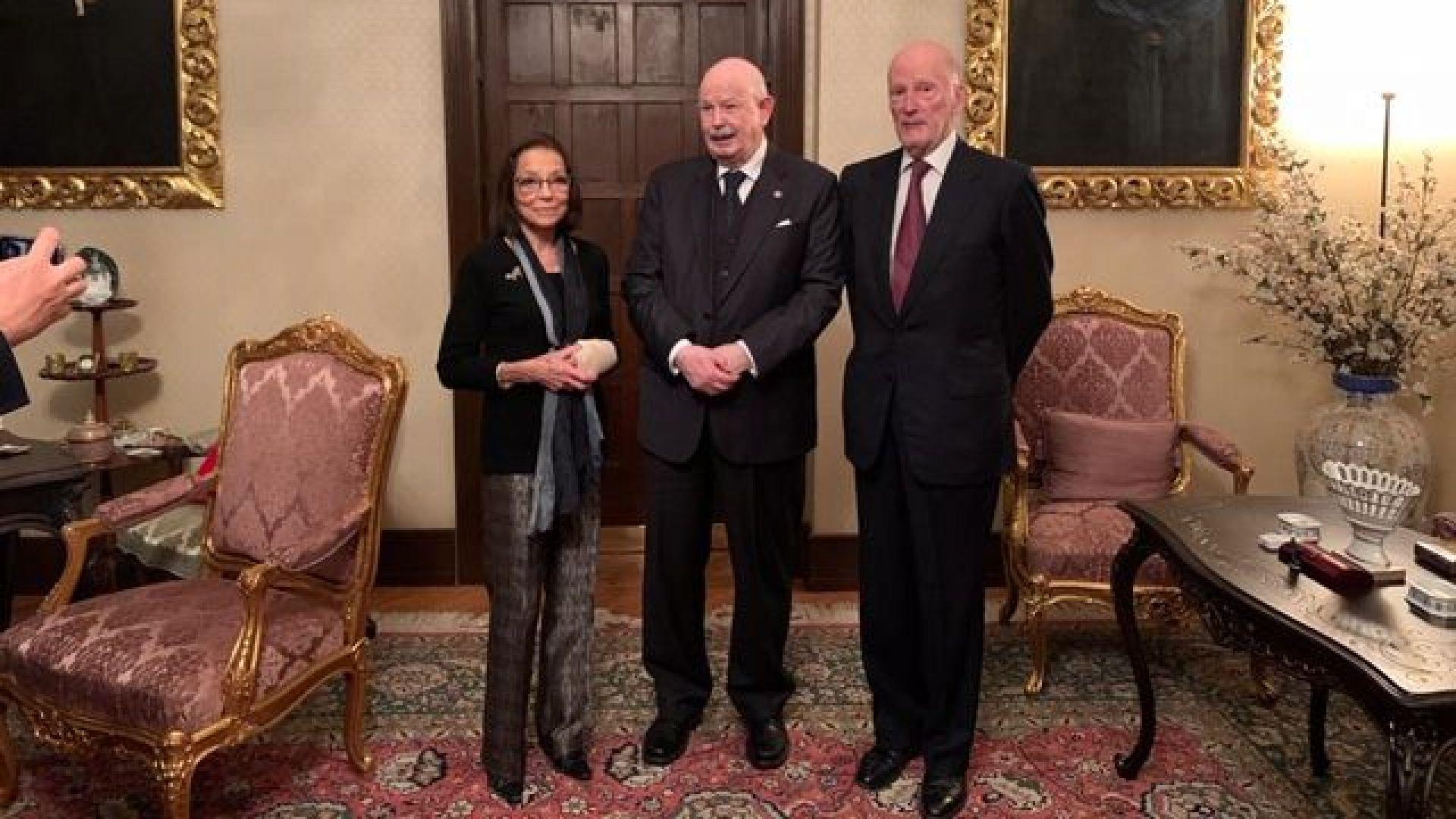 """Великия магистър на Малтийския орден посети """"Врана"""""""