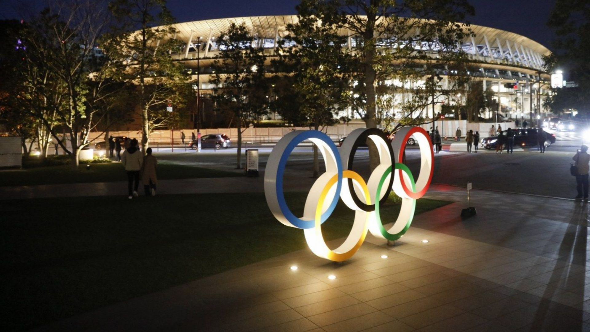 Олимпийският стадион в Токио официално бе открит (снимки)