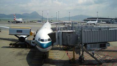 Хонконг отчете най-големия спад на броя на пътниците от десетилетие