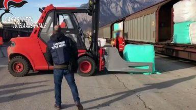 Мащабна операция на МВР заради боклука на Ндрангета
