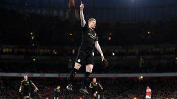 Сити мина през дома на Арсенал в предколедно настроение - 3:0