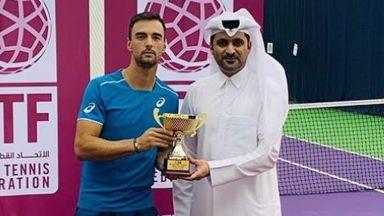 Кузманов е в чудесна форма за ATP Cup, спечели титлата в Доха