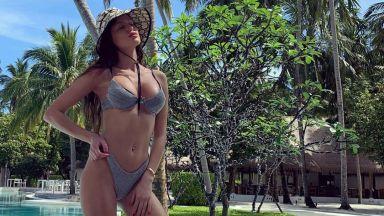 Мис България 2019 Радинела Чушева се радва на живота на Малдивите