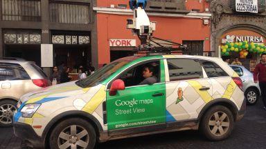 Колите на Google отново в България