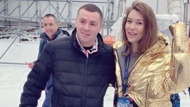 Никол Станкулова и Ицо Хазарта откриха ски сезона в Банско