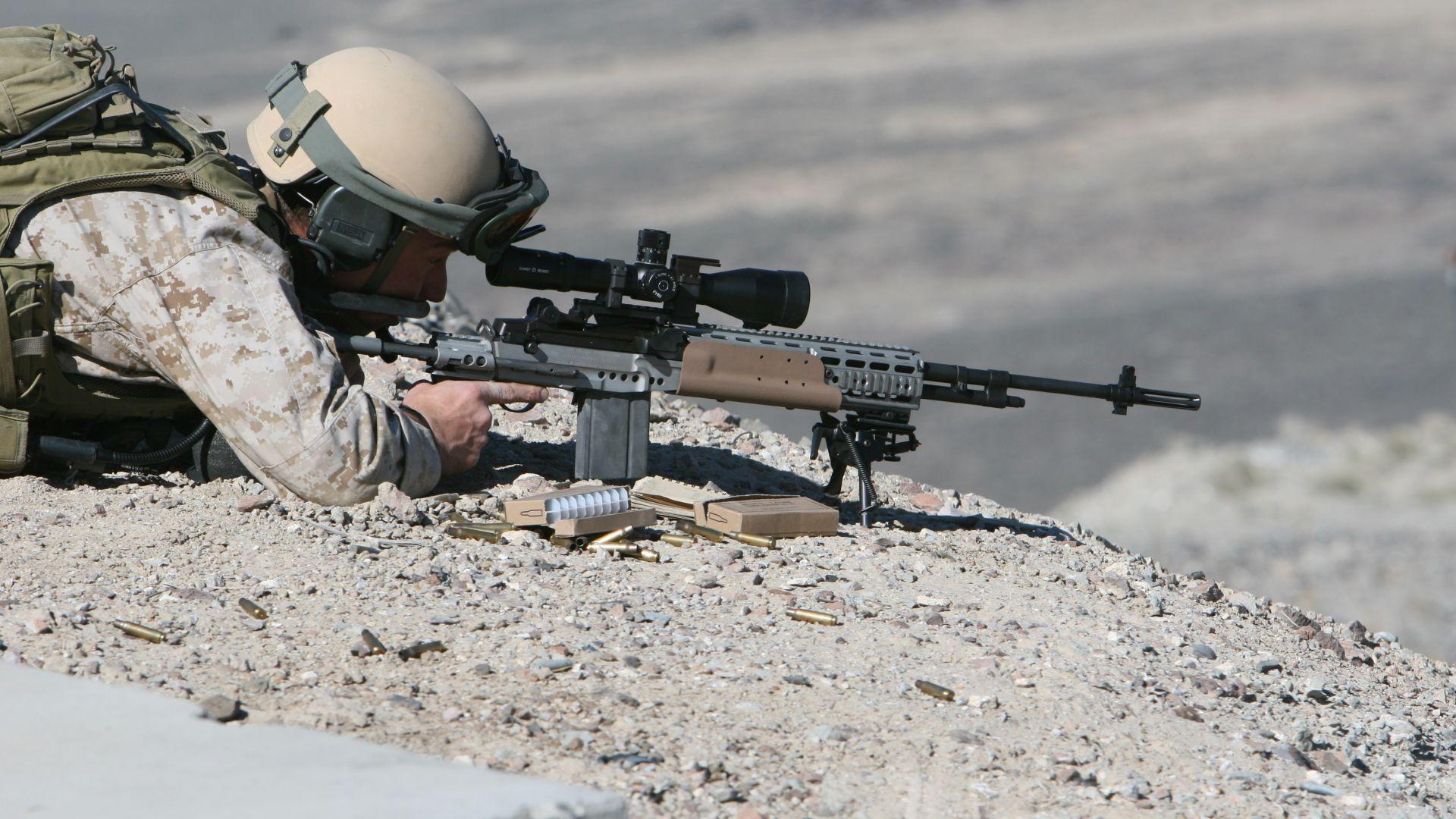 """Американската алтернатива на руския снайпер """"Драгунов"""" (снимки)"""