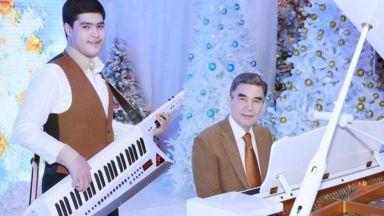 Яздене на кон, боулинг и китара - един ден от живота на президента на Туркменистан (видео)