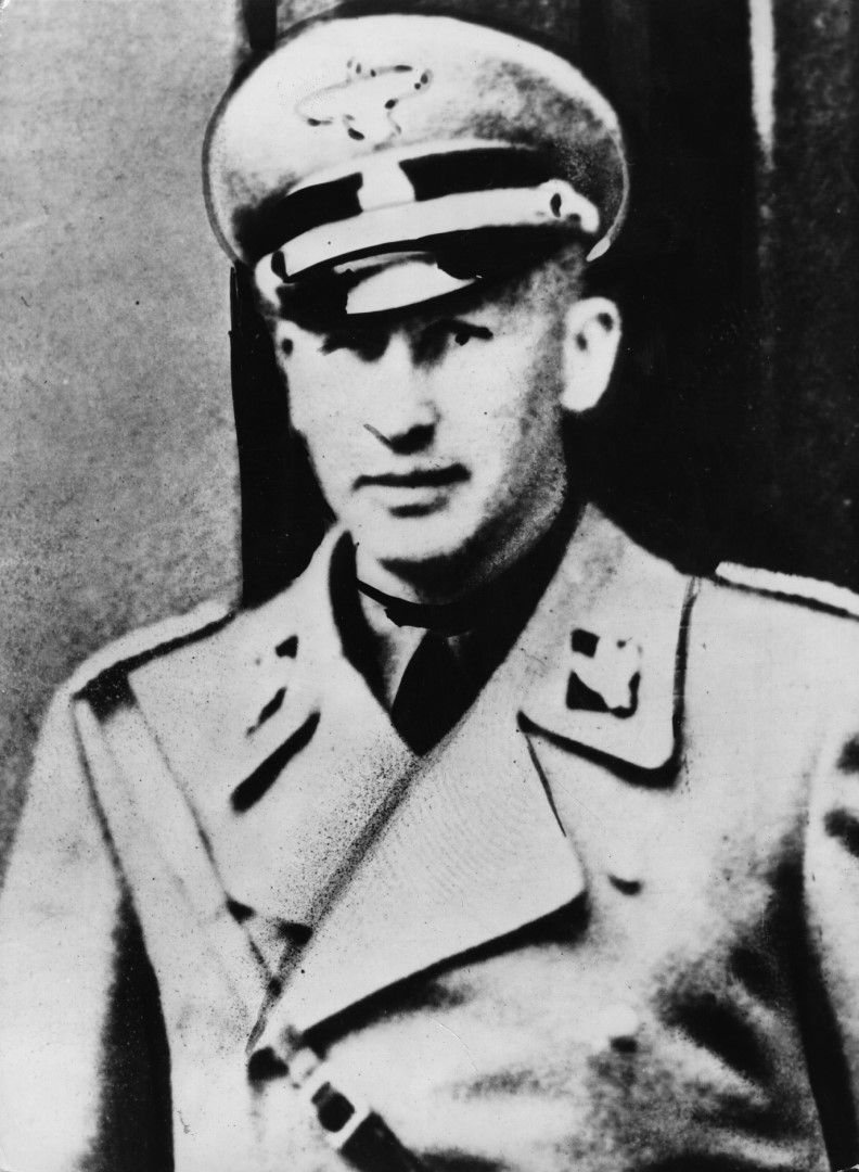 Райнхард Хайдрих, висoкопоставен нацист, бивш зам.-шеф на Гестапо