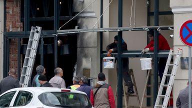 Взрив до българското посолство в Подгорица, нанесени са щети по сградата (снимки)