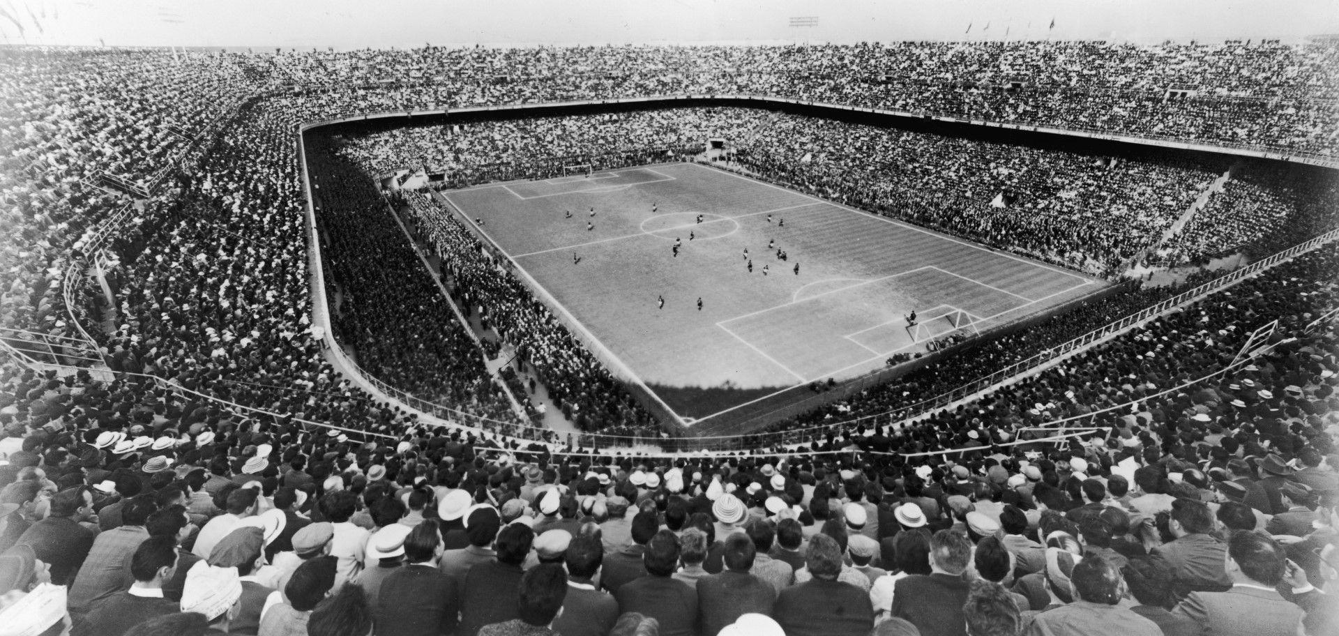 """Стадион """"Сан Сиро"""" през 30-те години на миналия век"""