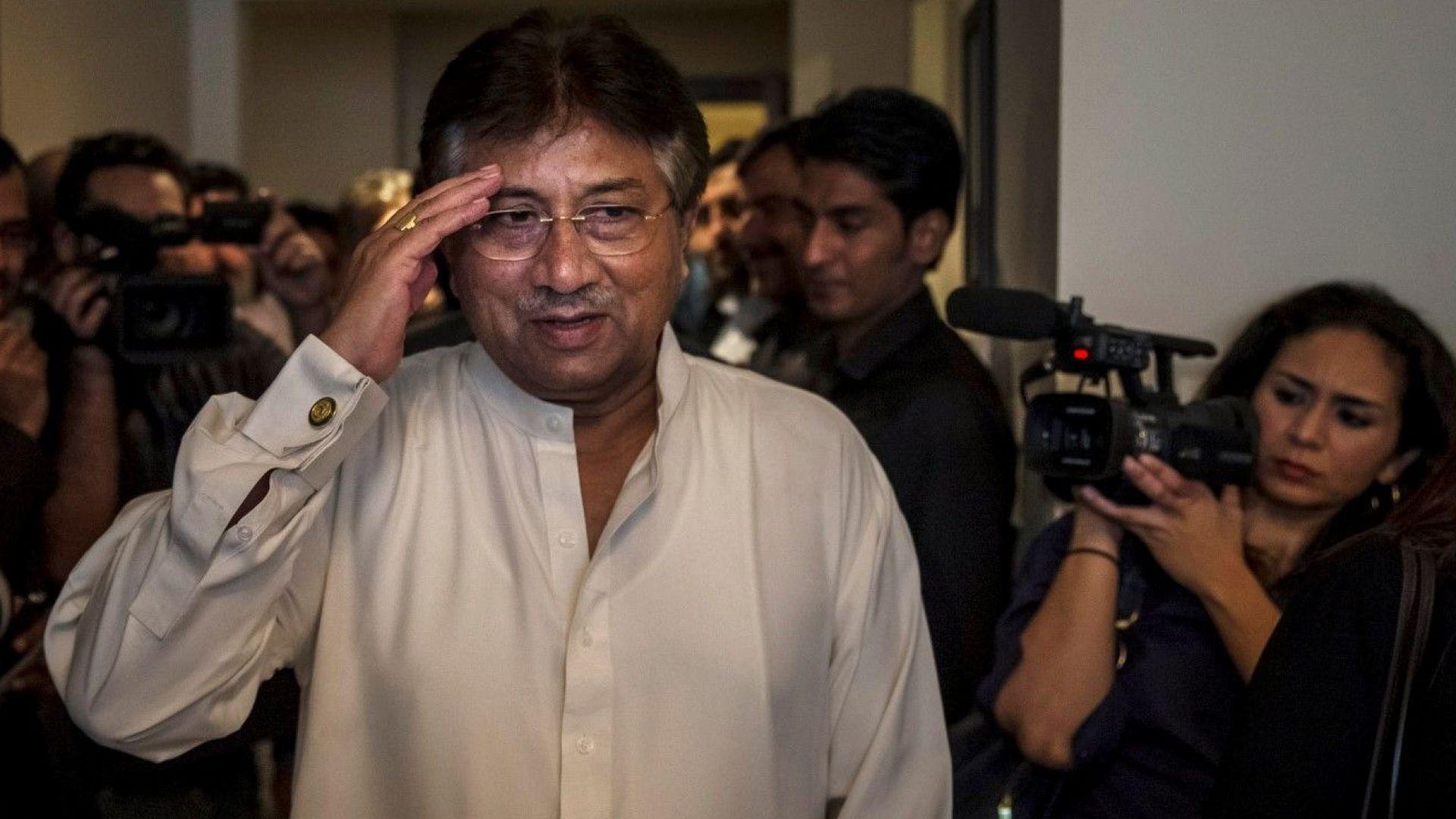 Осъдиха на смърт пакистанския екслидер Первез Мушараф