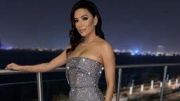Ева Лонгория - доволното лице на една жена на почивка в Дубай
