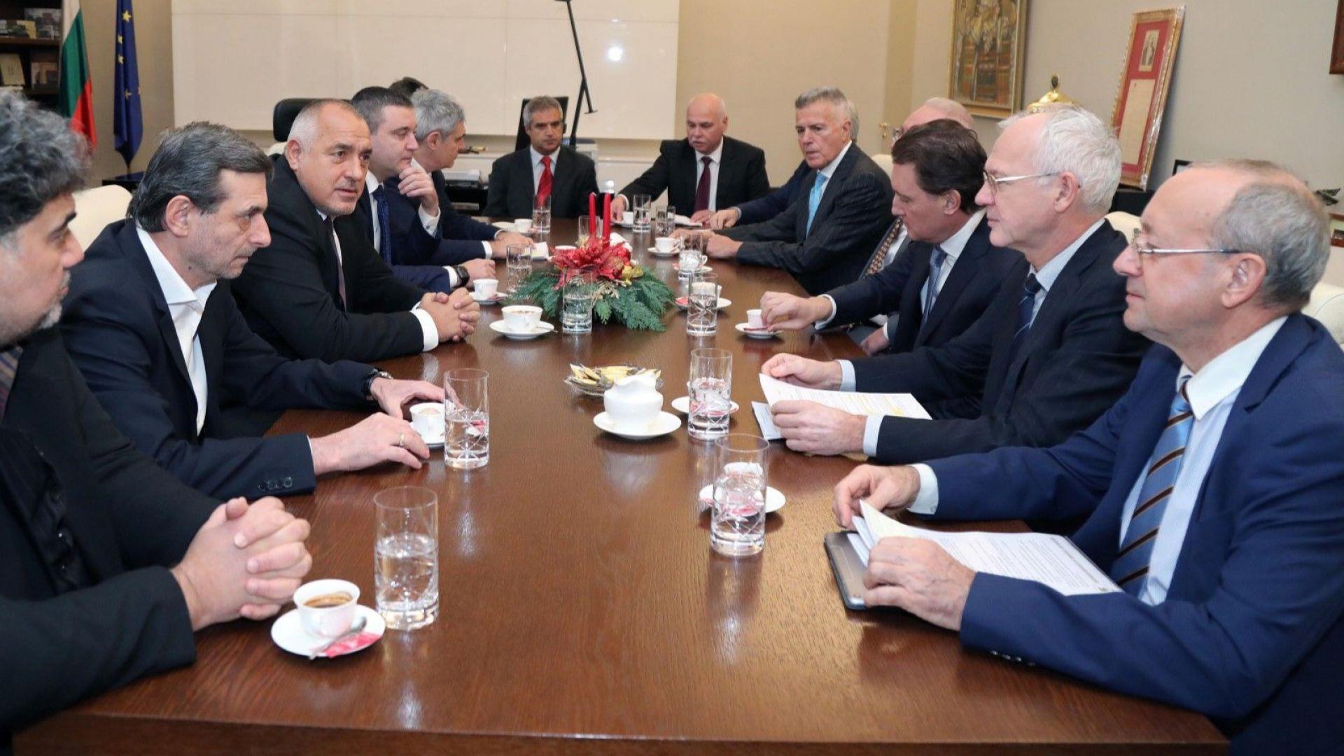 Борисов и работодатели обсъдиха 40 мерки