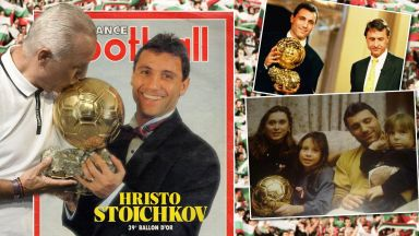 Христо Стоичков пред Dir.bg: За златния ден, в който изкачи Еверест на футбола