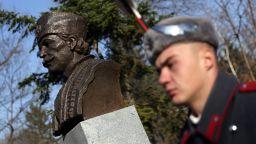 Откриха паметник на капитан Петко войвода в Борисовата градина (снимки)