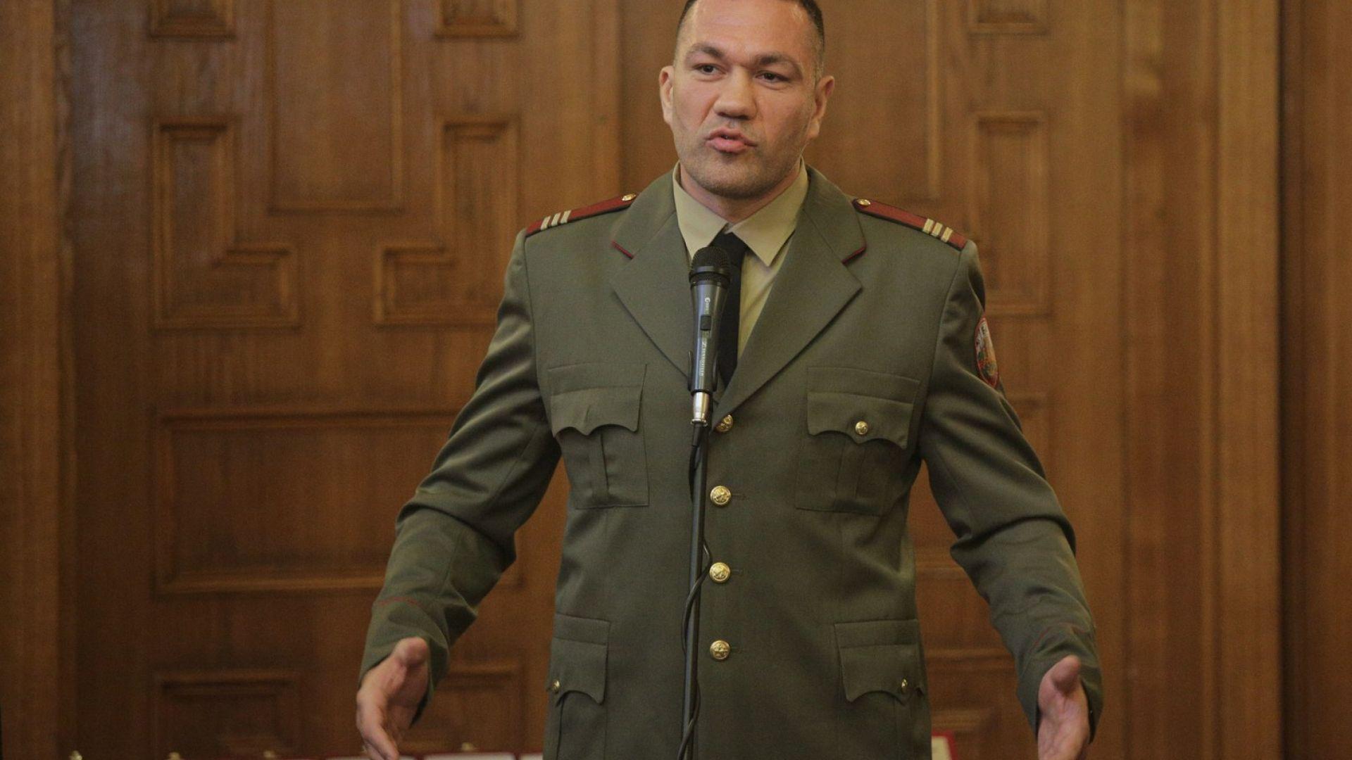 Кубрат Пулев: Дано не се налага, но при война искам да съм в първите редици
