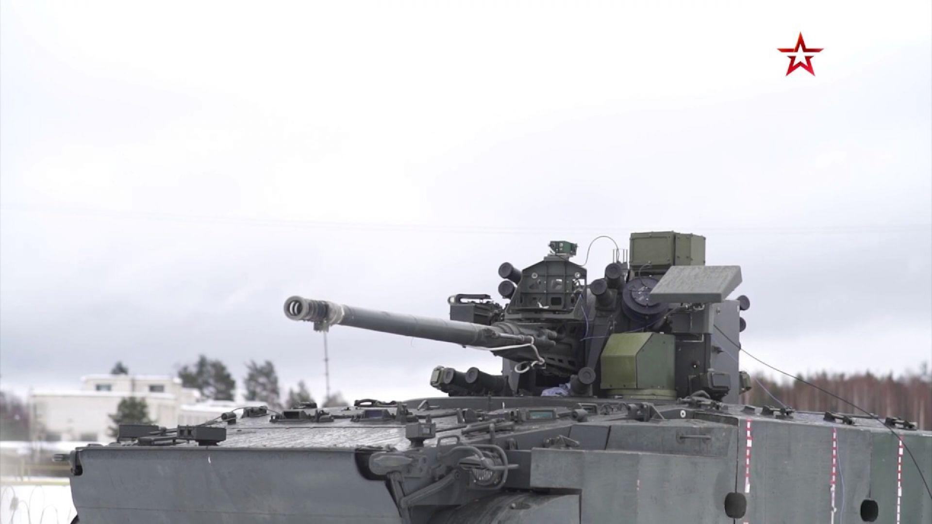 Русия тества нова бойна машина (видео)