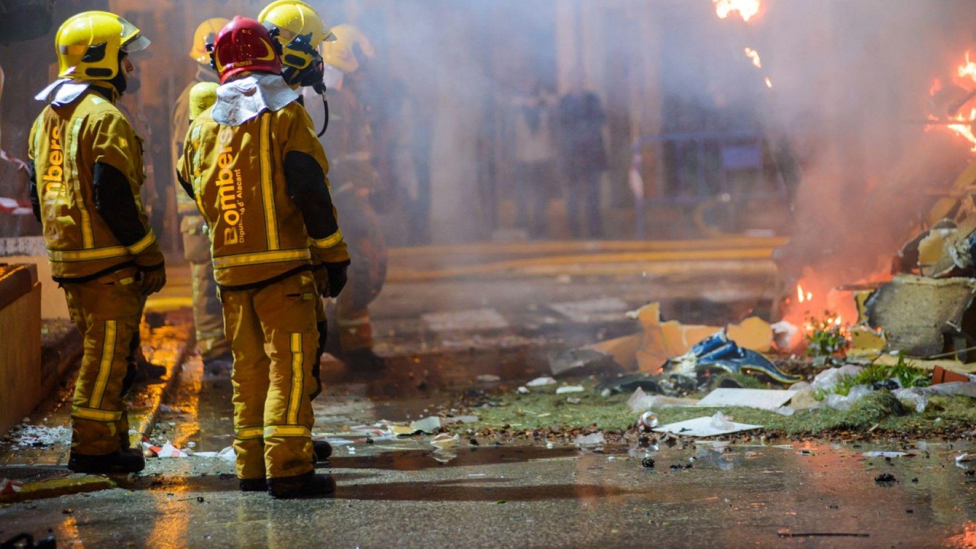 26 души са пострадали при пожар в близост до катедралата