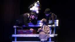 """""""Малката Кибритопродавачка"""" на Андерсен на сцената на Театър 199"""