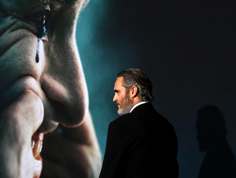 """Хоакин Финикс на премиерата на """"Жокера"""" през септември 2019 в Холивуд"""
