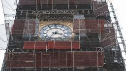Скелето за ремонта на Биг Бен в Лондон ще се демонтира