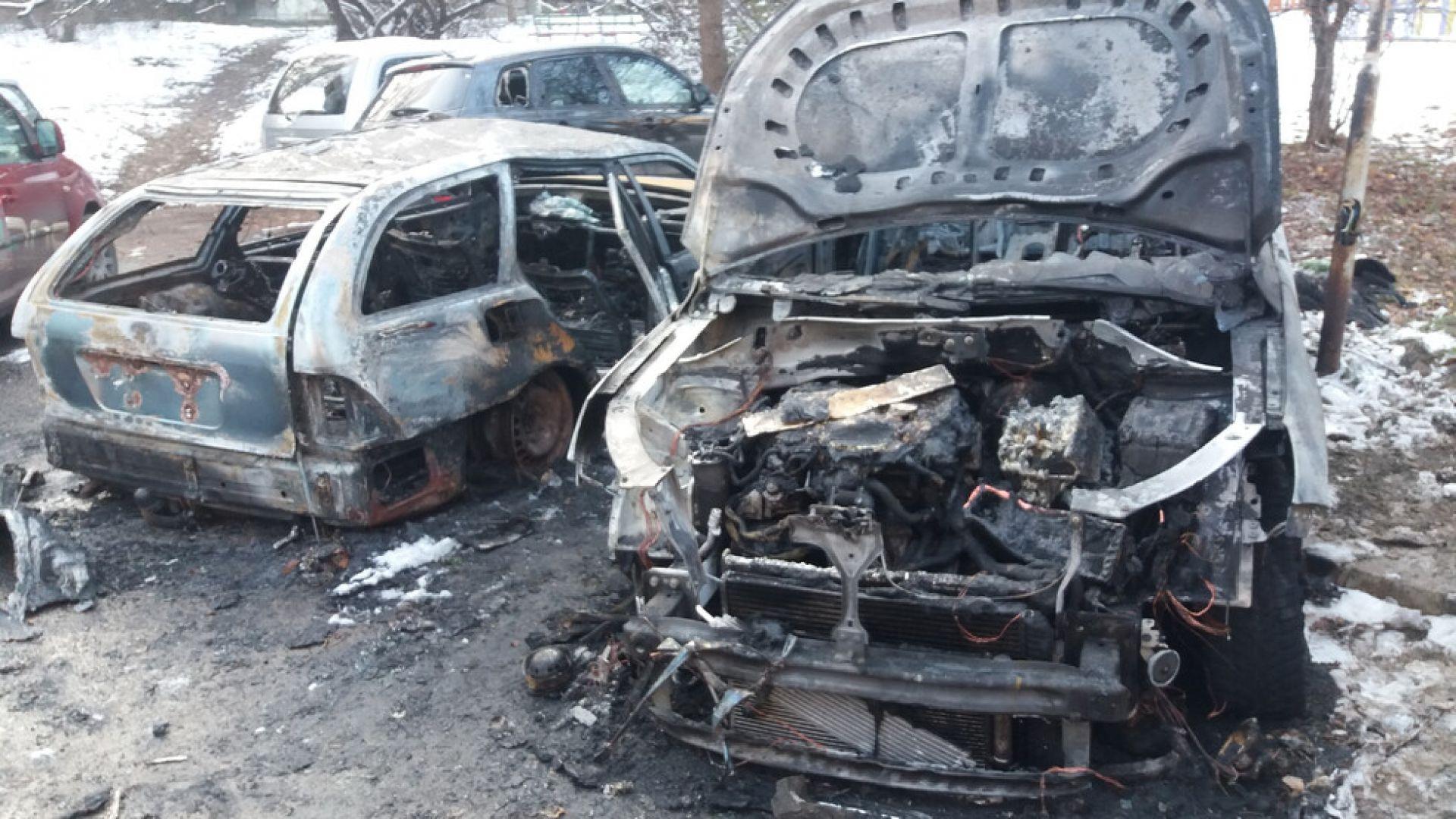 114 автомобила са подпалени в София от началото на годината
