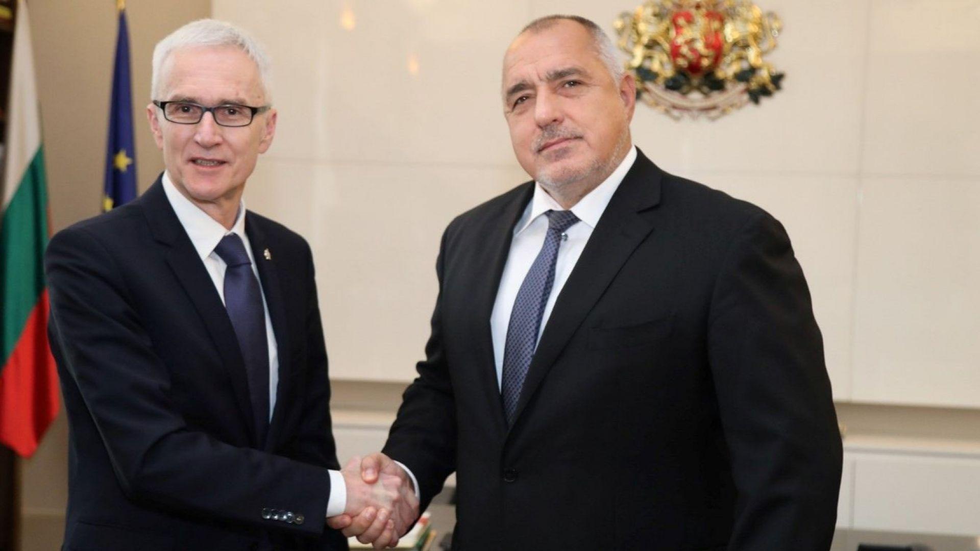 Борисов изтъкна българските успехи в операции на Интерпол