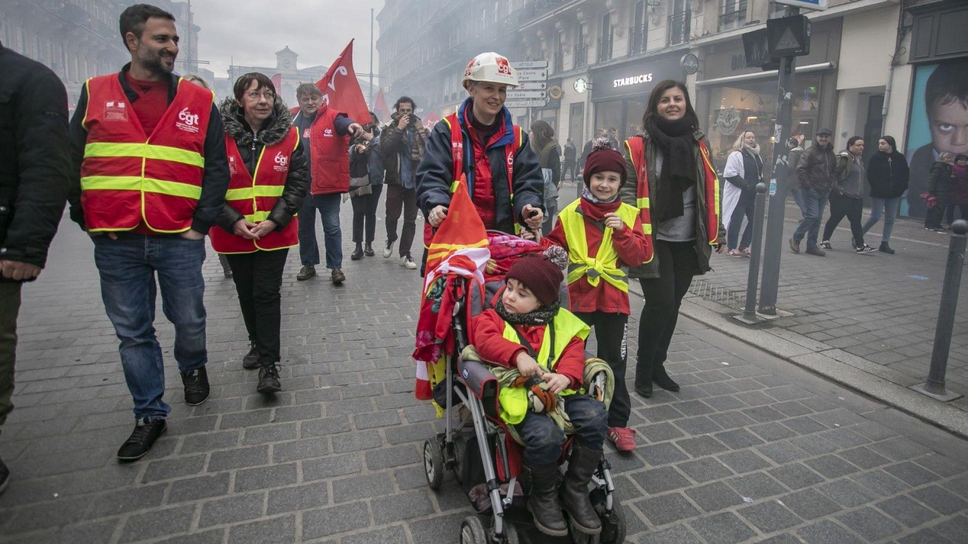 Пенсии: френският парадокс на равенството