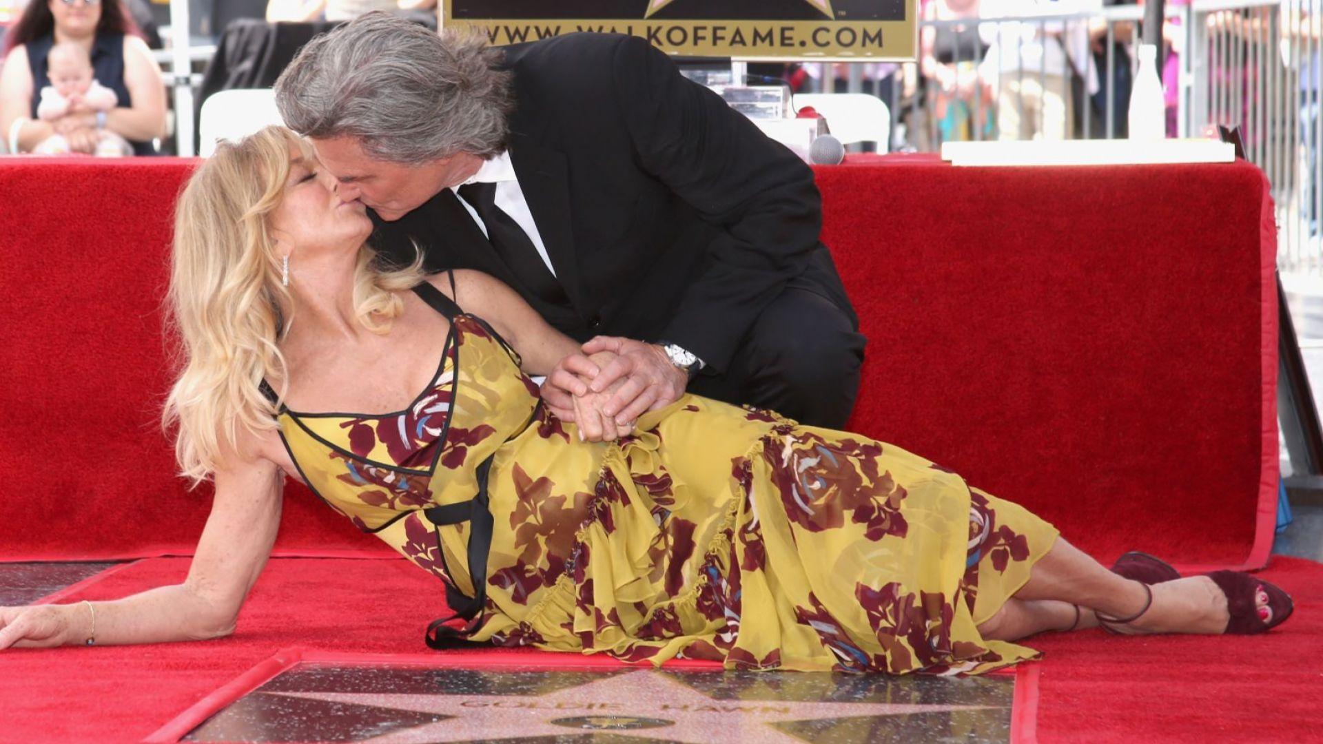 Кърт Ръсел и Голди Хоун – една холивудска любов на 36, горяща с пълна сила и до днес