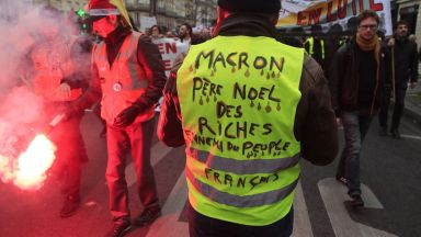 Френските железници са загубили 600 млн. евро от стачката