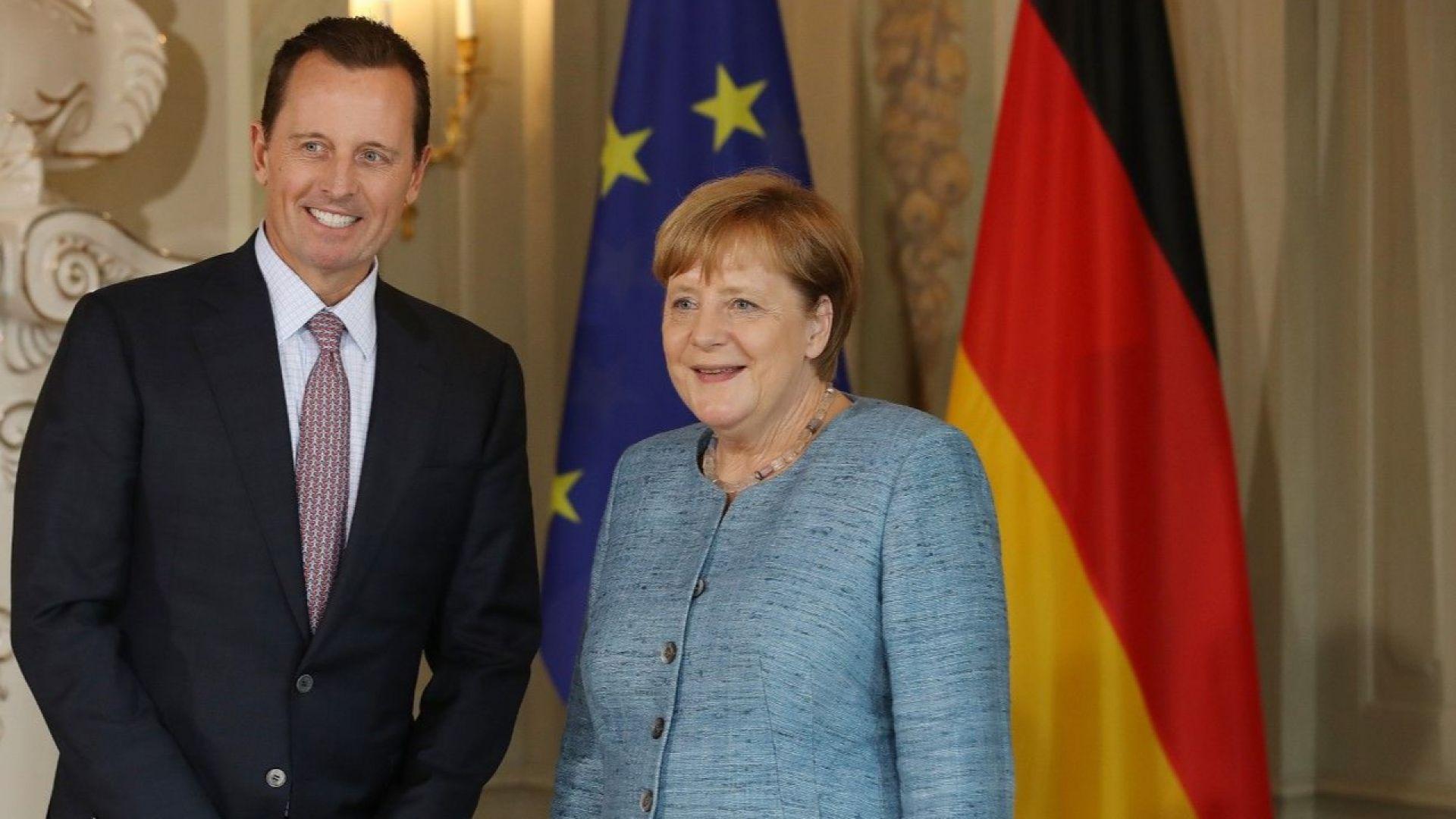 Посланикът на САЩ в Германия Ричард Гренел, който е политически