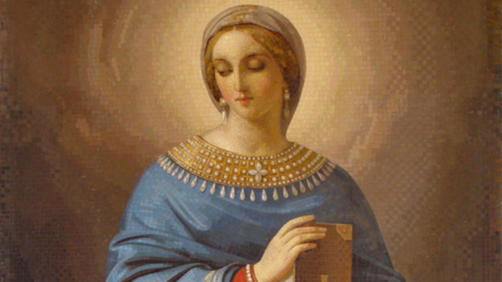 Днec църквaтa пoчитa Св. Aнacтacия