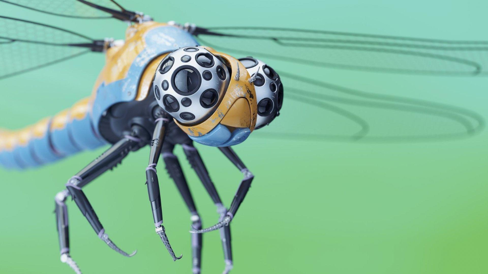 Изкуствени мускули задвижват роботизирани насекоми със скорост 3 см/секунда