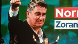 Зоран Миланович води на президентските избори в Хърватия