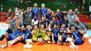 Наш волейболен национал вдигна трофей в Аржентина
