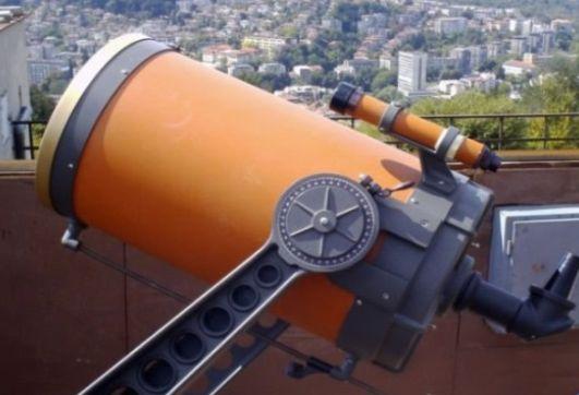 С този телескоп можете да видите Слънцето, Луната и различни планети