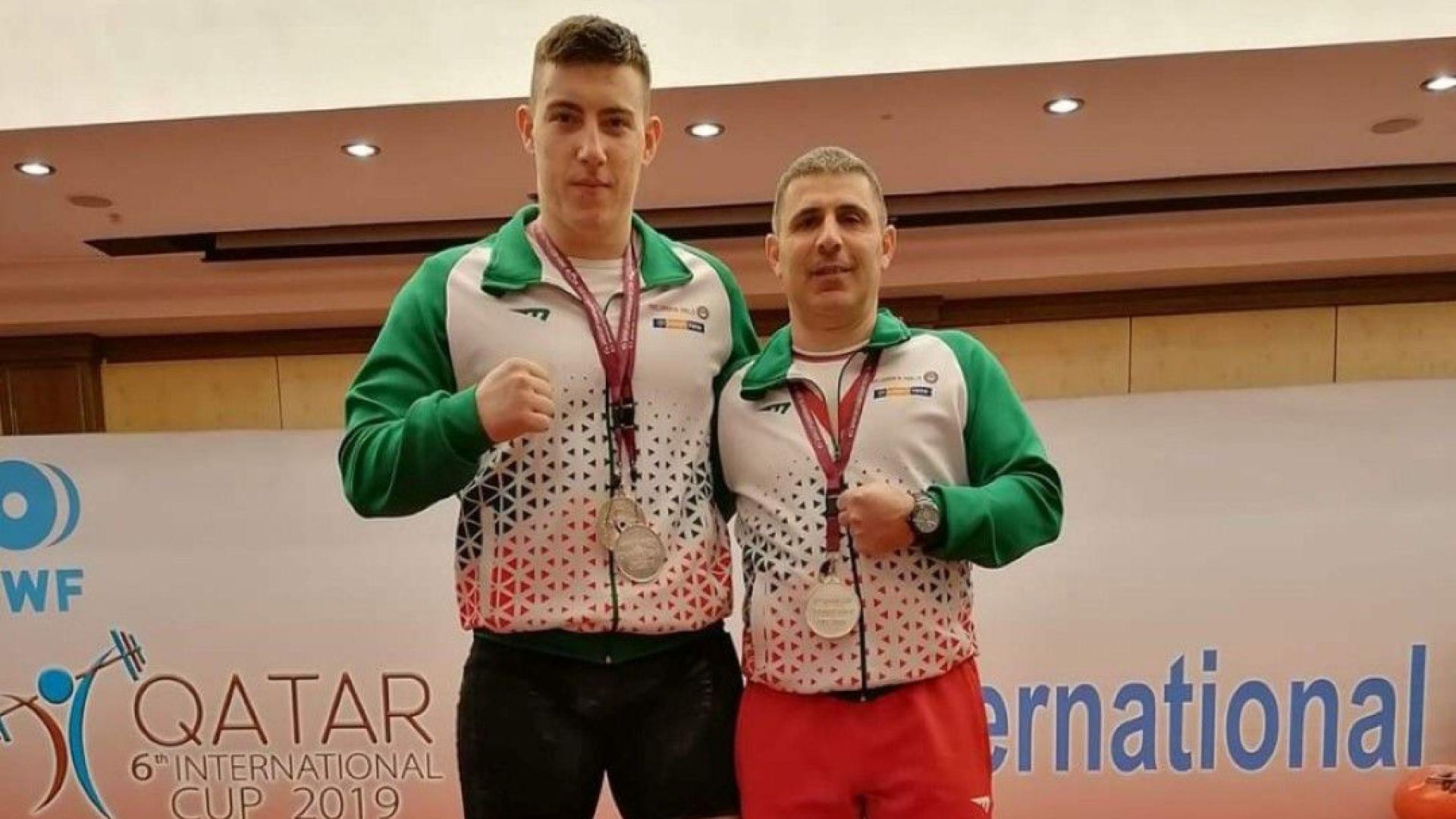 Христо Христов грабна три медала от Доха