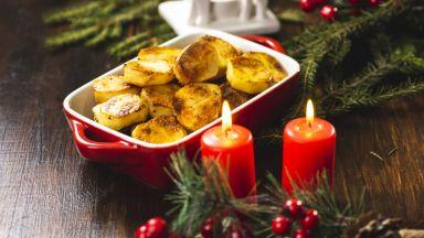 Печените картофи са царете на коледната трапеза