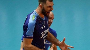 Цветан Соколов е шампион на Русия по волейбол