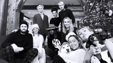 Майли Сайръс и Коди Симпсън заедно на Коледа