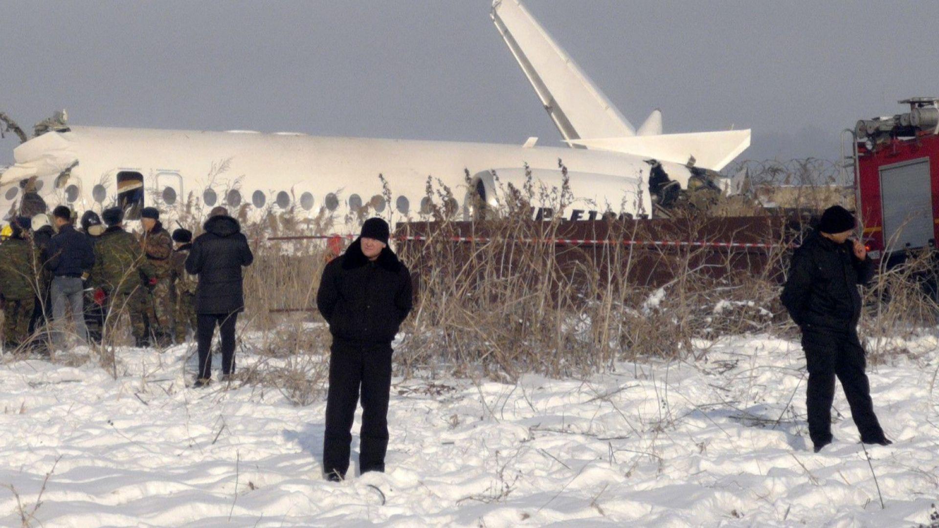 Лекарите в Казахстан са успели да стабилизират състоянието на най-тежко