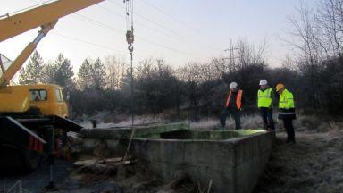 Между 30 и 40 дни ще отнеме изграждането на водопровода до Перник