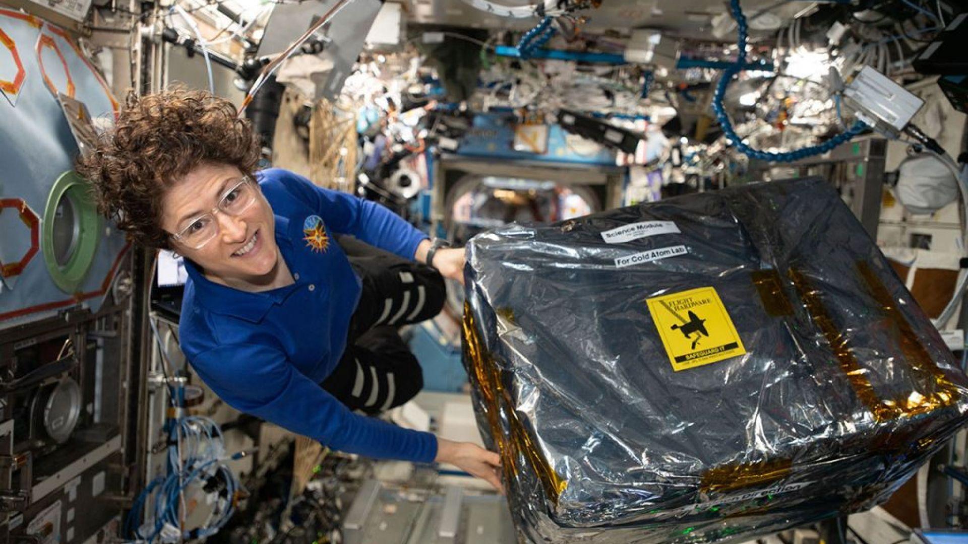 Американска астронавтка постави рекорд в космоса (видео)