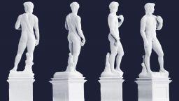 Отпечатаха 3D Давид на Микеланджело висок само 1 мм