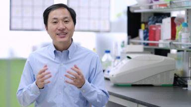 """Три години затвор в Китай за учения, създал първите """"генно редактирани"""" бебета"""