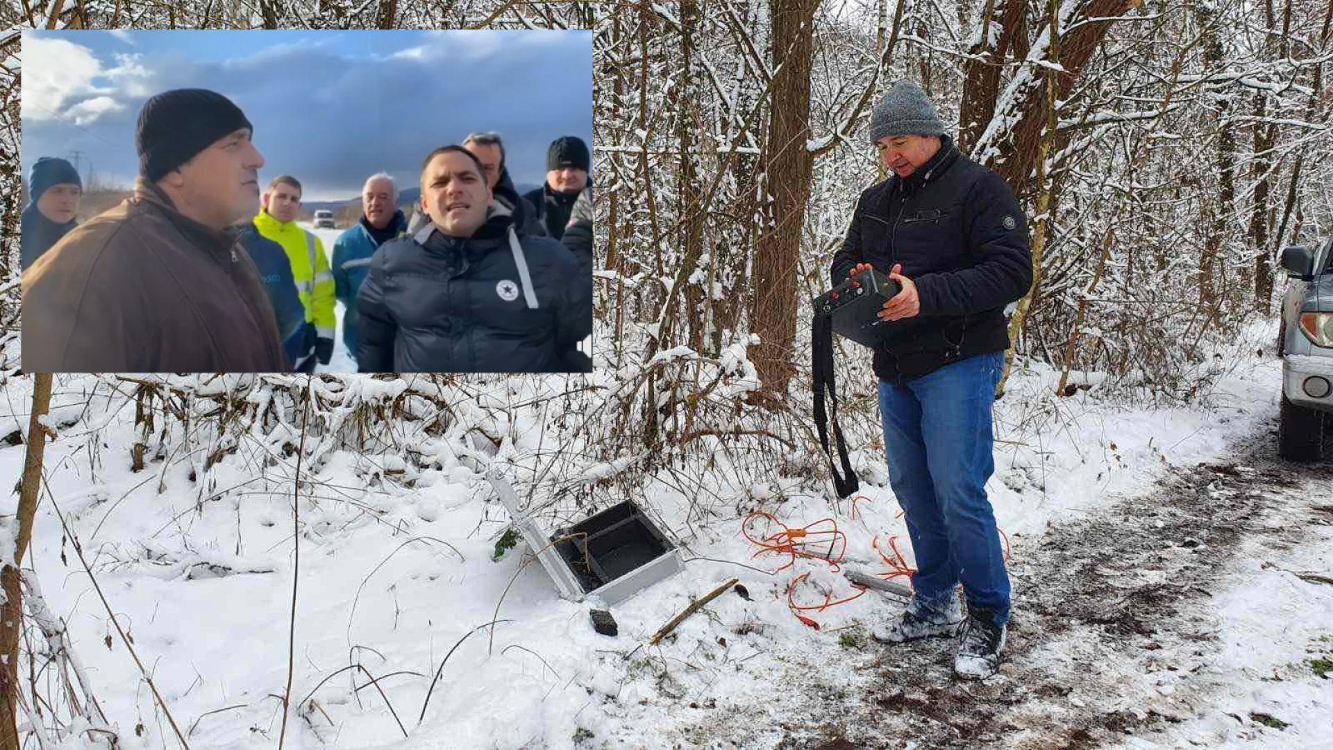 Премиерът Бойко Борисов посети Перник, за да провери как започва